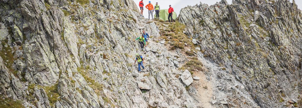 Secours en terrain difficile pour Mountain Medic