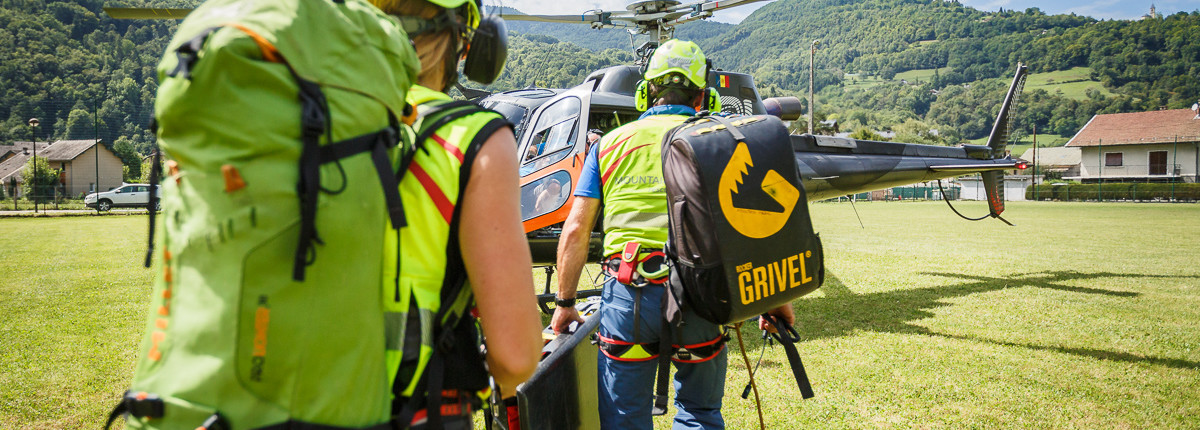 Mountain Medic - Team Helico - Départ en secours